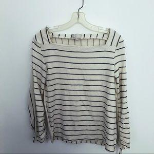 Anthropologie Postmark striped pullover